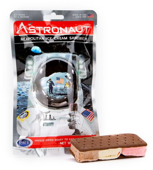 Astro Neapolitan Ice Cream Sandwich
