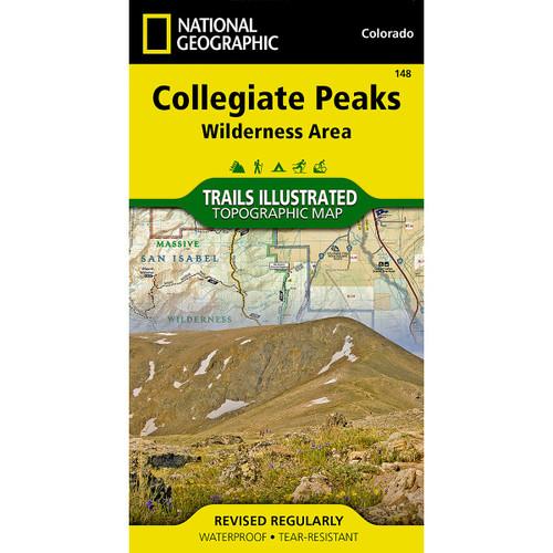 Collegiate Peaks Map