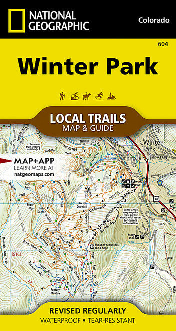 Winter Park Local Trails Map & Guide