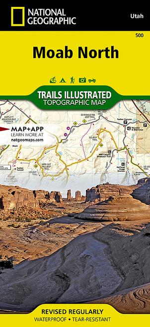 MOAB NORTH, UT MAP