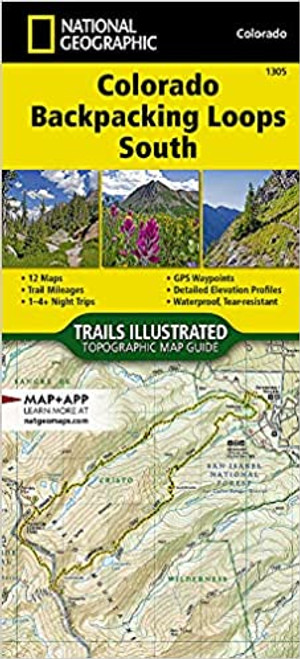 Colorado Backpacking Loops South Map
