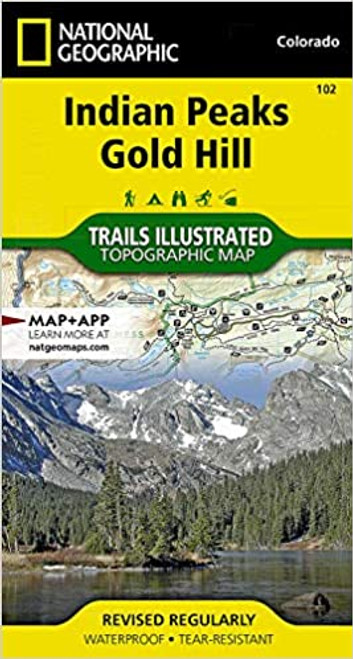 Trail Map - Indian Peaks Gold Hill