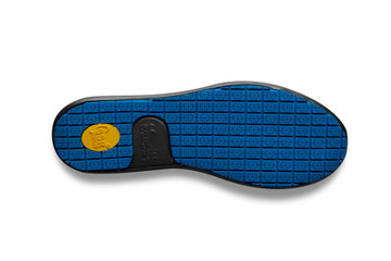 WearerTech Energise Black Comfy Work Shoe Slip On Trainer Non Slip Sole View