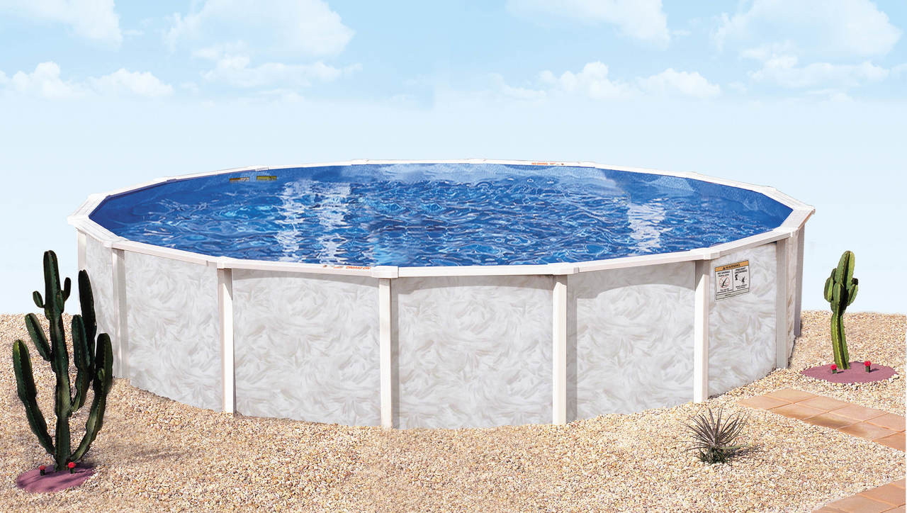 Doughboy Summerville Steel Swimming Pool - Westwood Pool Company