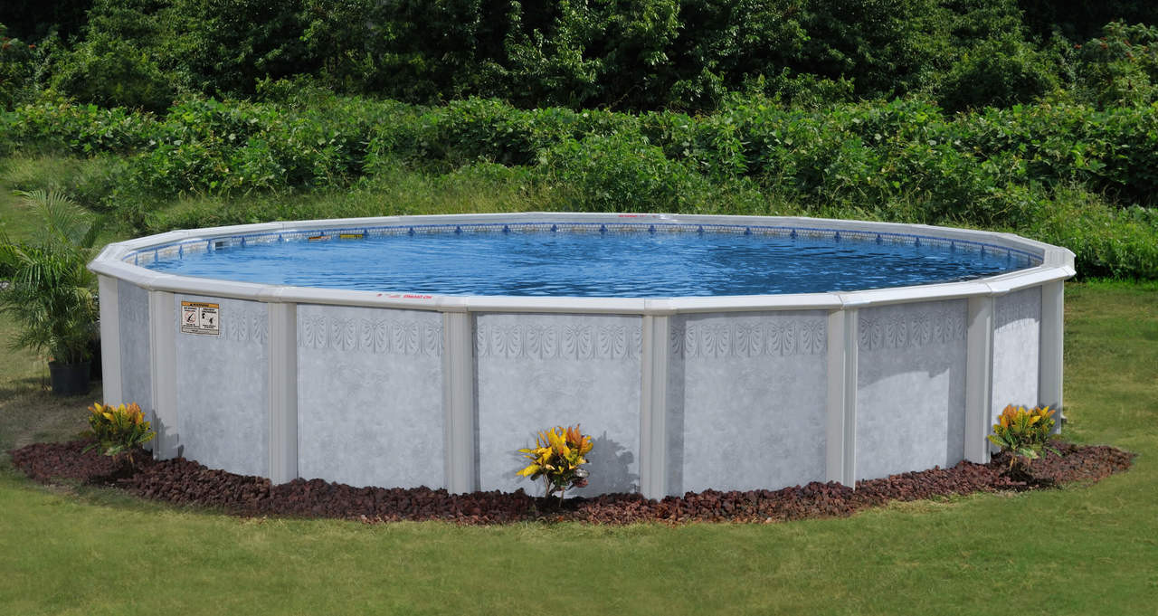 Doughboy Palm Shore Steel Swimming Pool