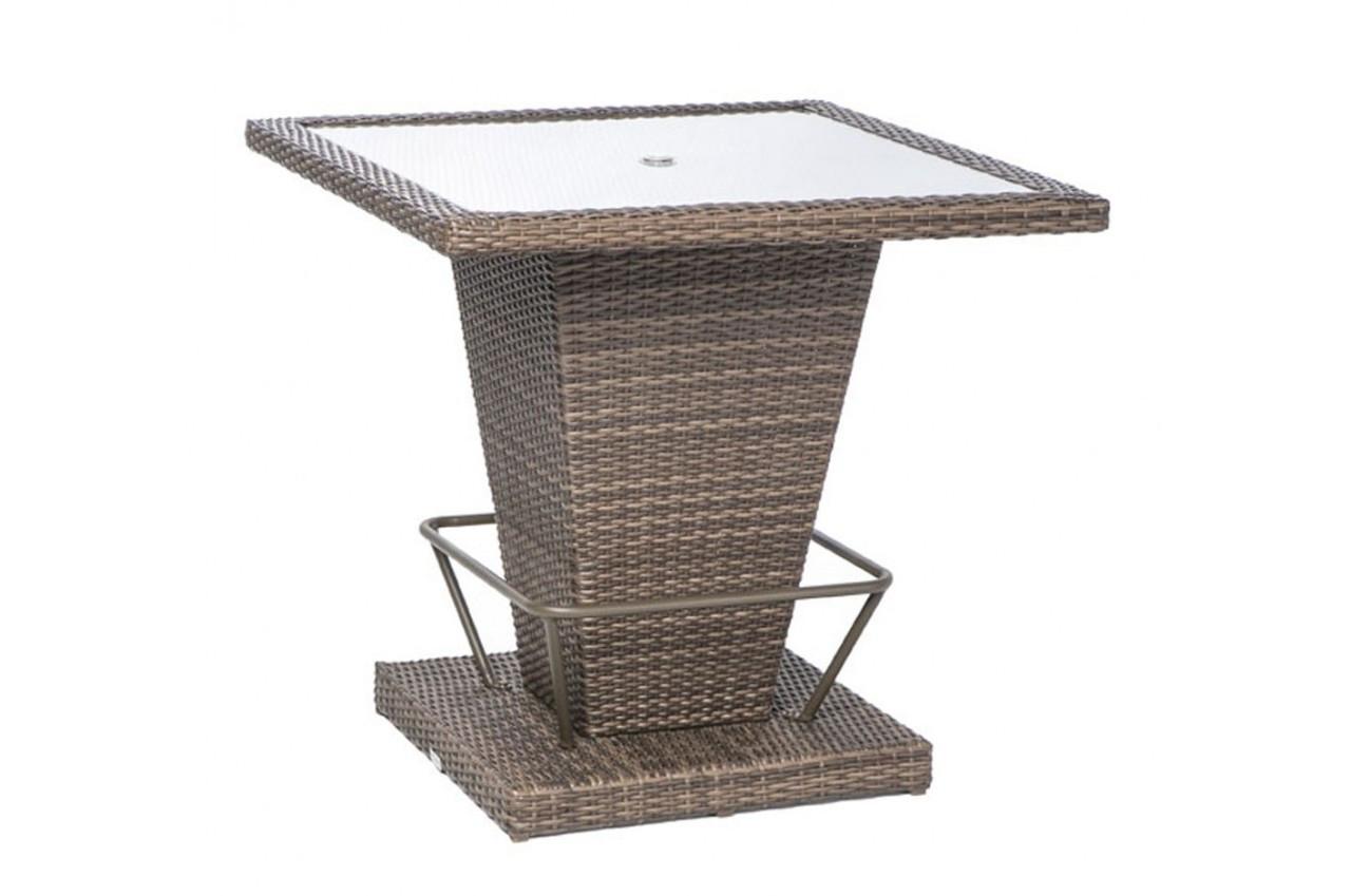 Alfresco Home Lakeside Pyramid Bar Table with Glass Top - Westwood Pool  Company - Alfresco Home Lakeside Pyramid Bar Table With Glass Top - Westwood