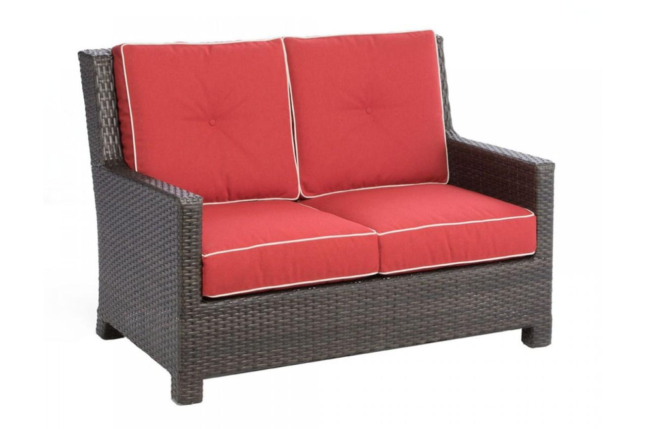 Alfresco Home Patio Furniture.Alfresco Home Saddlery Deep Seating Love Seat Westwood Pool Company