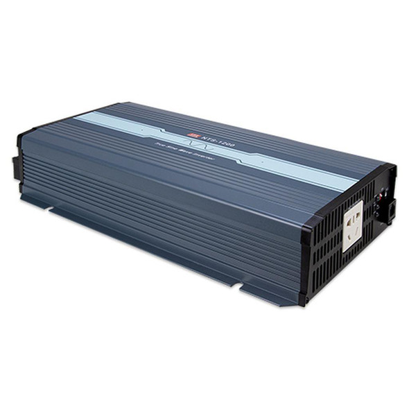 Mean Well NTS-1200-224AU True Sine Wave DC-AC Inverter 1200W 230V out 24V in with AU Socket