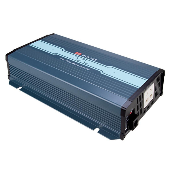 Mean Well NTS-750-212AU True Sine Wave DC-AC Inverter 750W 230V out 12V in with AU Socket