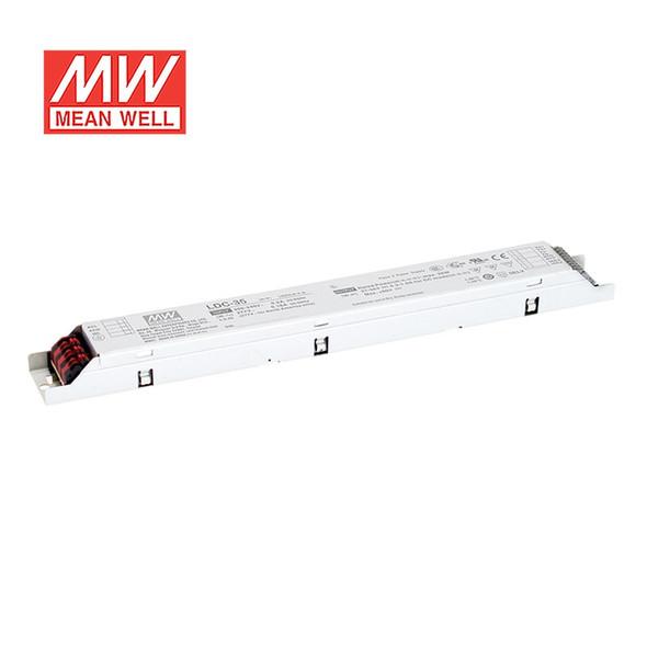 Mean Well LDC-35DA2 Linear LED Driver 35W 300~1000mA Adjustable Output - DALI2