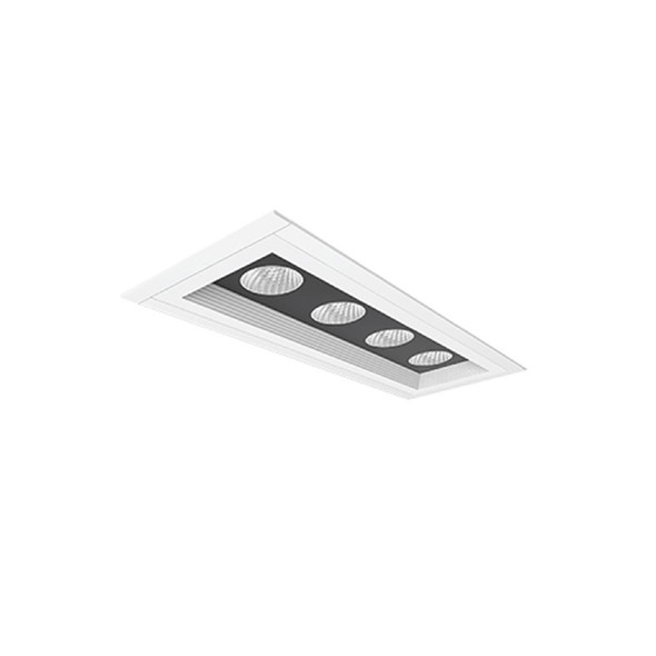 Archilight MICRO Downlight MD 4xMD55/ 840 HE - White 4000k