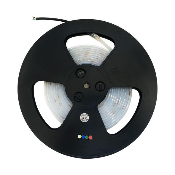 LED Strip 30LEDs/m RGB + 30LEDs/m Warm White - 14.4W/m 24V IP68 - 5m Roll