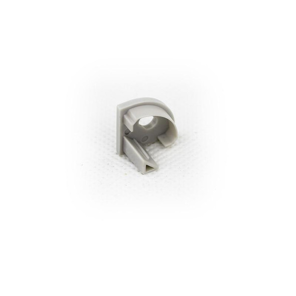 End cap (with hole) for Aluminum Extrusion -EXCR01