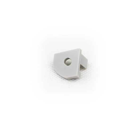 End cap (with hole) for Aluminum Extrusion -EXCR03
