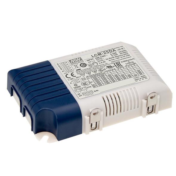 Mean Well LCM-25DA2 Power Supply 25W 350mA 500mA 600mA 700mA(default) 900mA 1050mA - DALI2 and Push
