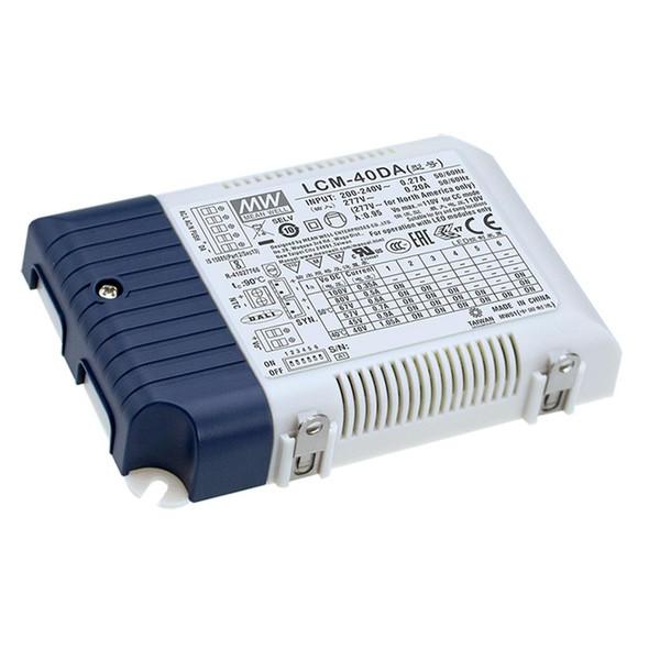 Mean Well LCM-40DA2 Power Supply 40W 350mA 500mA 600mA 700mA(default) 900mA 1050mA - DALI2 and Push
