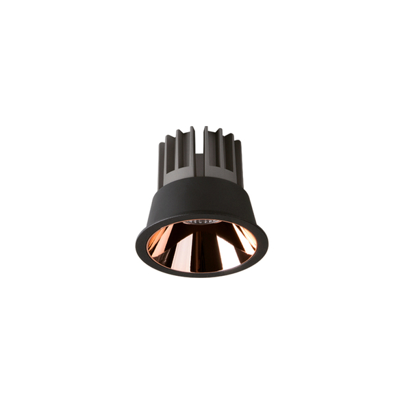 Archilight Ray Ac Dimmable Downlight 10W Black + Rose Gold