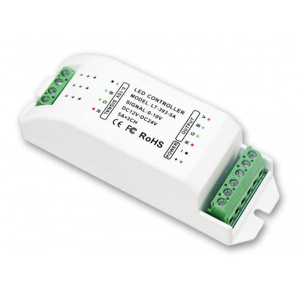 Ltech LT-393-5A 0-10V LED Dimming Driver