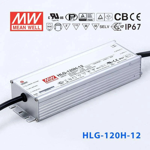 Mean Well HLG-120H-12 Power Supply 120W 12V