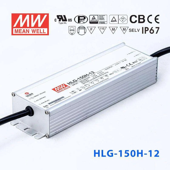 Mean Well HLG-150H-12 Power Supply 150W 12V