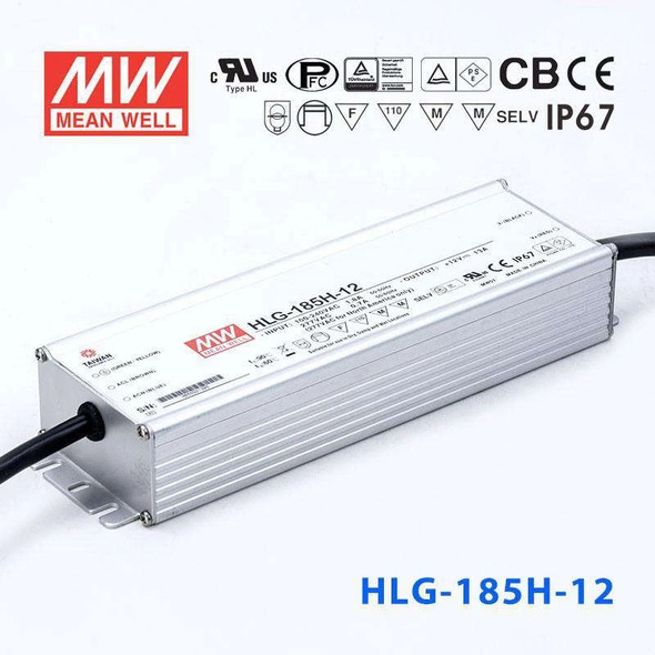 Mean Well HLG-185H-12 Power Supply 156W 12V