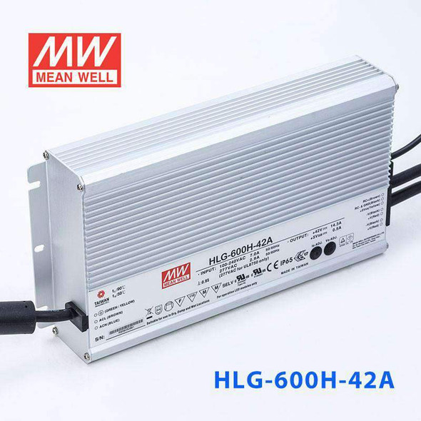 Mean Well HLG-600H-42A Power Supply 600W 42V - Adjustable