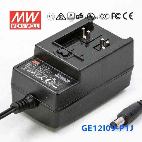 Mean Well GE12I09-P1J Power Supply 12W 9V