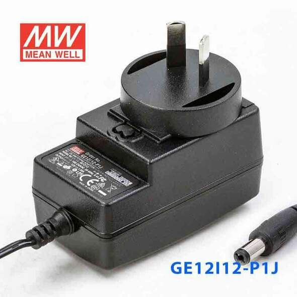 Mean Well GE12I12-P1J Power Supply 12W 12V