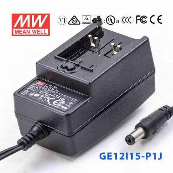 Mean Well GE12I15-P1J Power Supply 12W 15V