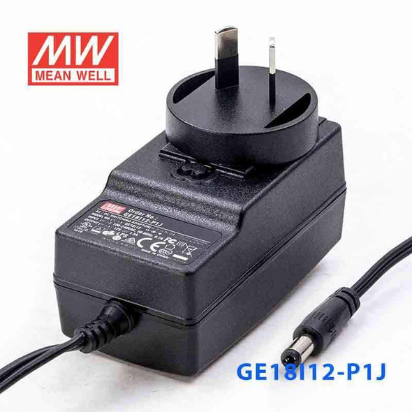 Mean Well GE18I12-P1J Power Supply 18W 12V