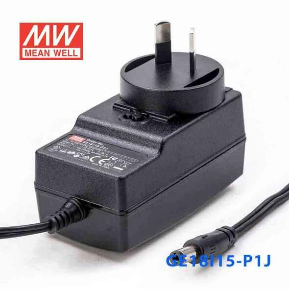 Mean Well GE18I15-P1J Power Supply 18W 15V
