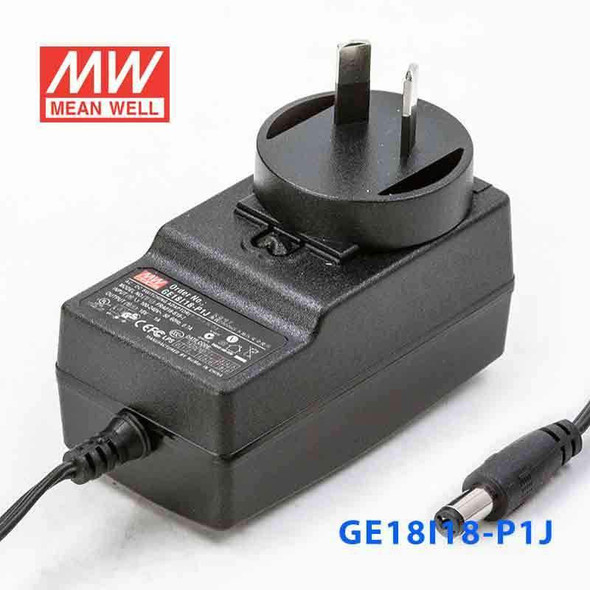 Mean Well GE18I18-P1J Power Supply 18W 18V