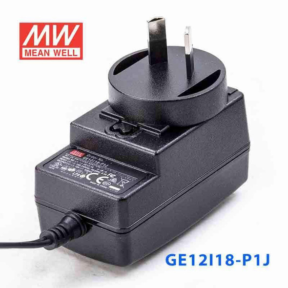 Mean Well GE12I18-P1J Power Supply 15W 18V