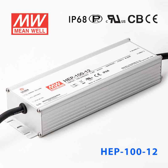 Mean Well HEP-100-12A Power Supply 100.08W 12V