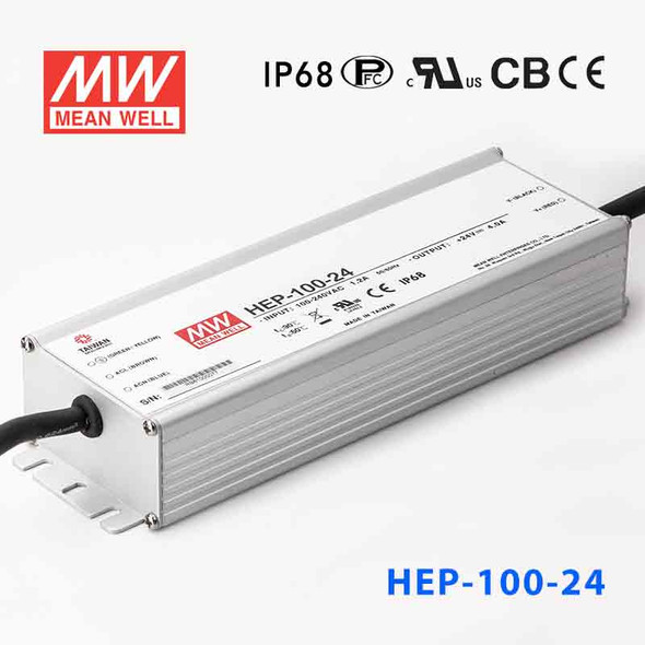 Mean Well HEP-100-24A Power Supply 96W 24V