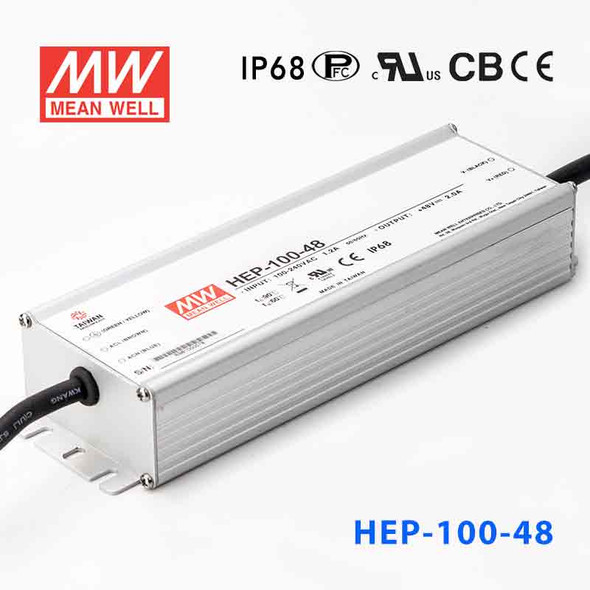 Mean Well HEP-100-48A Power Supply 96W 48V