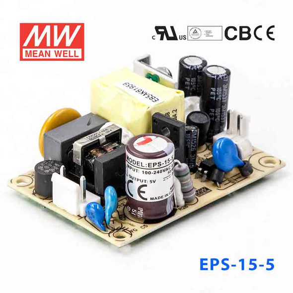 Mean Well EPS-15-5 Power Supply 15W 5V