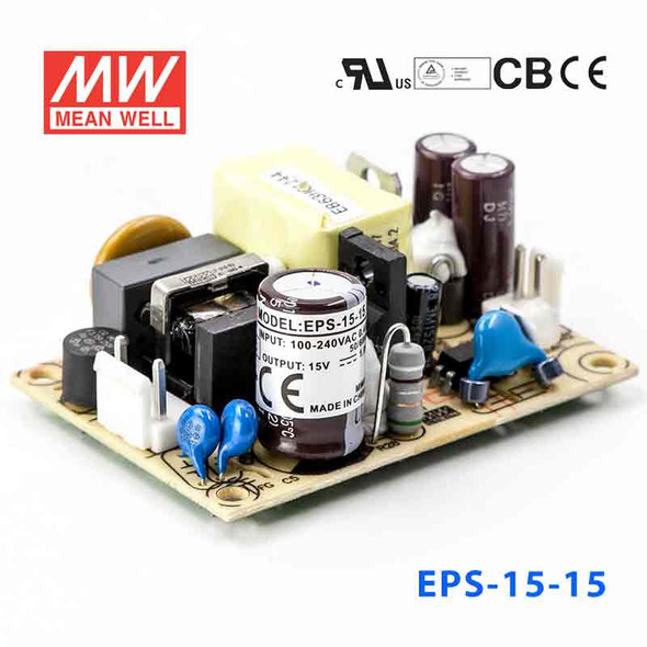 Mean Well EPS-15-15 Power Supply 15W 15V
