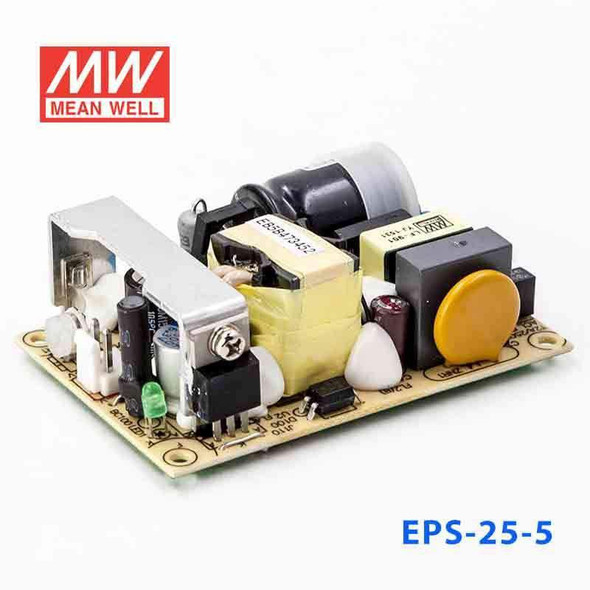 Mean Well EPS-25-5 Power Supply 25W 5V