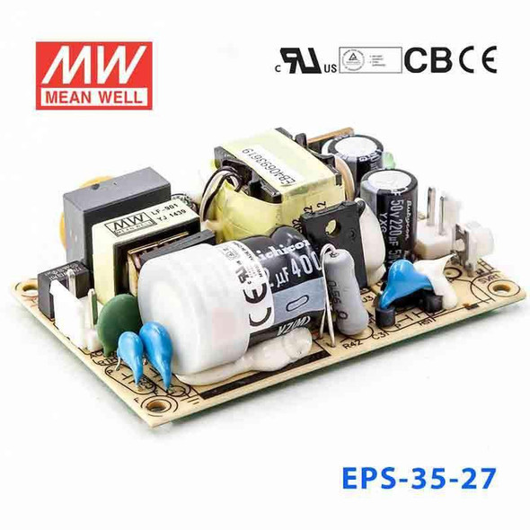 Mean Well EPS-35-27 Power Supply 35W 27V