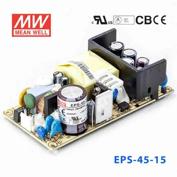 Mean Well EPS-45-15 Power Supply 45W 15V