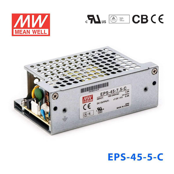 Mean Well EPS-45-5-C Power Supply 40W 5V