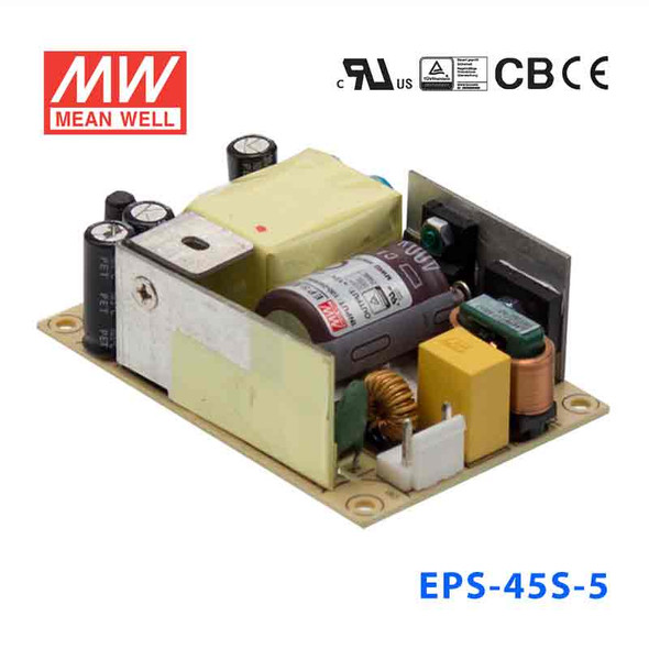 Mean Well EPS-45S-5 Power Supply 40W 5V