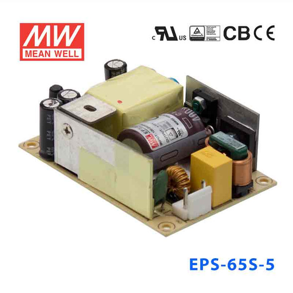Mean Well EPS-65S-5 Power Supply 50W 5V