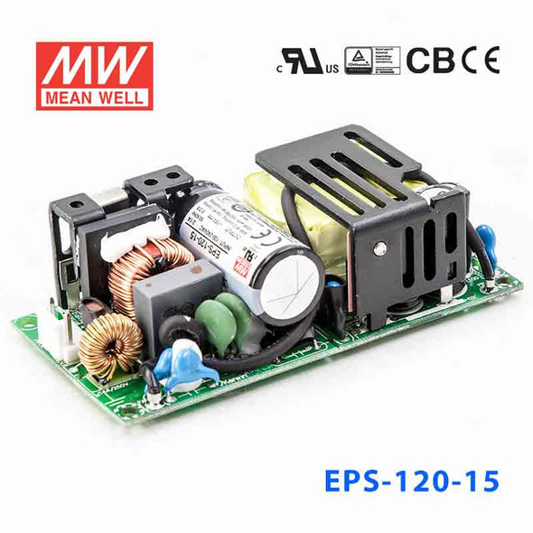 Mean Well EPS-120-15 Power Supply 84W 15V