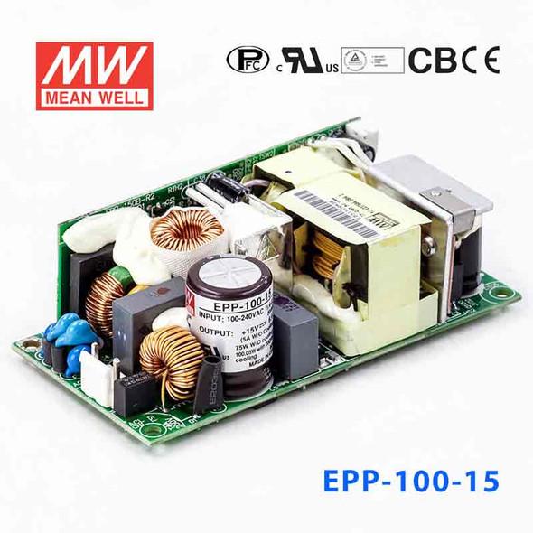 Mean Well EPP-100-15 Power Supply 75W 15V