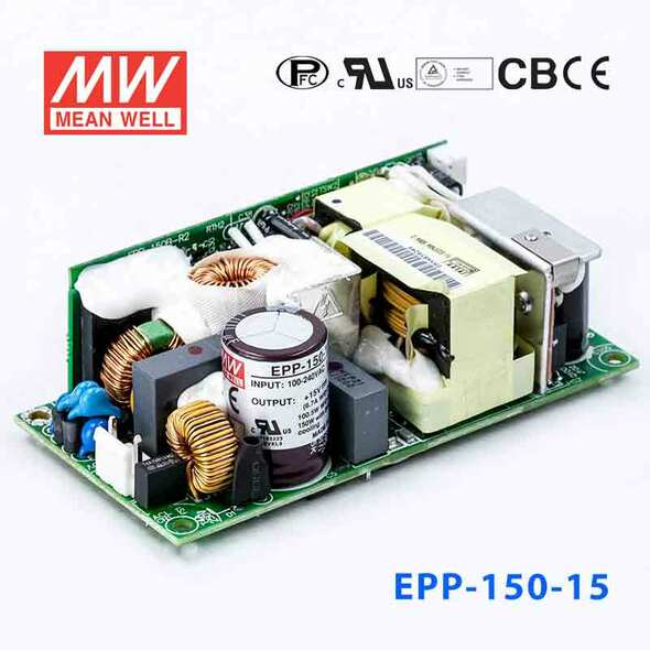 Mean Well EPP-150-15 Power Supply 100W 15V