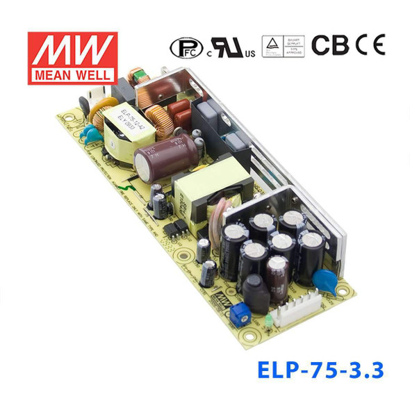 Mean Well ELP-75-3.3 Power Supply 49W 3.3V