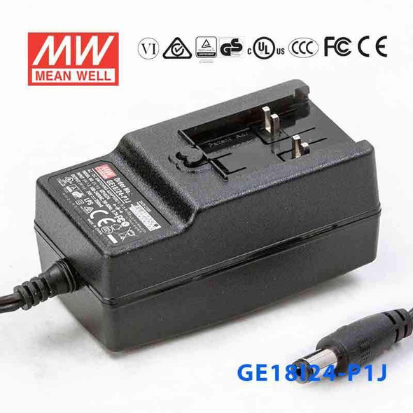 Mean Well GE18I24-P1J Power Supply 18W 24V