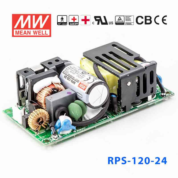 Mean Well RPS-120-27 Green Power Supply W 27V 4.5A - Medical Power Supply